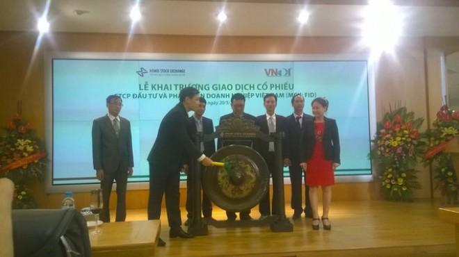 Thông tin cổ phiếu FID của VNDI chính thức chào sàn HNX