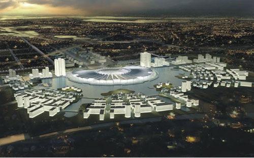 Chấp thuận phương án xây Trung tâm Triển lãm hội chợ Quốc gia