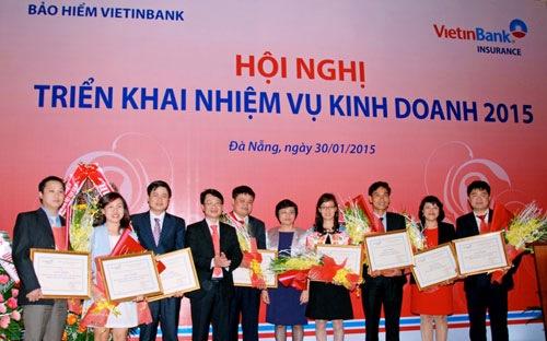 Bảo hiểm VietinBank tăng trưởng mạnh năm 2014