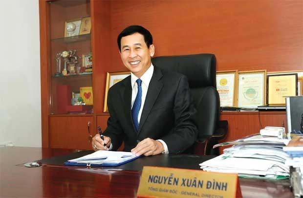 Nhân hiệu của thủ lĩnh D2D  ông Nguyễn Xuân Đình