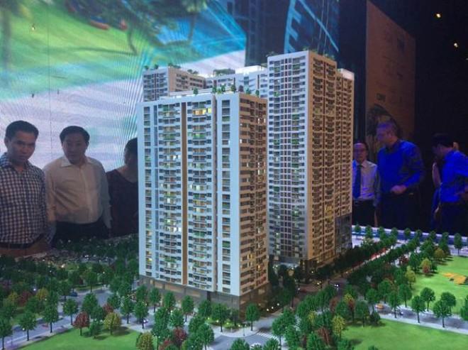 866 tỷ đầu tư  vào dự án chung cư Tân Kiểng