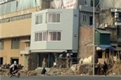 Những ngôi nhà siêu mỏng mọc trên các tuyến đường mới mở tại Hà Nội
