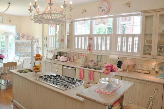 Ý tưởng trang trí phòng bếp theo phong cách vintage