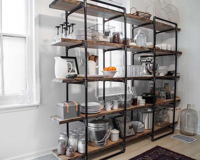 Trang trí phòng bếp theo phong cách hiện đại