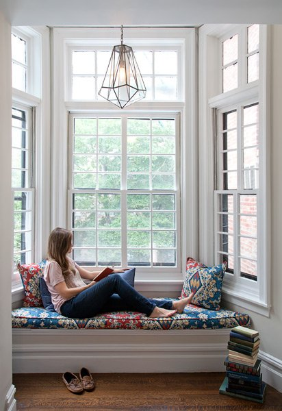 Thiết kế những góc đọc sách thư giản trong phòng ngủ