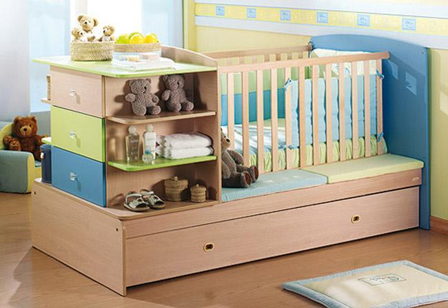 Thiết kế một căn phòng bắt mắt cho bé sơ sinh chào đời