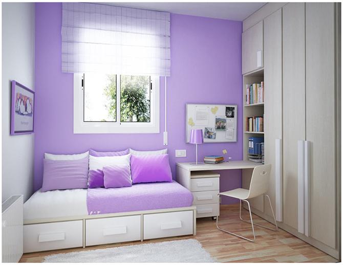 Hướng dẫn chọn màu sơn phòng cho bé