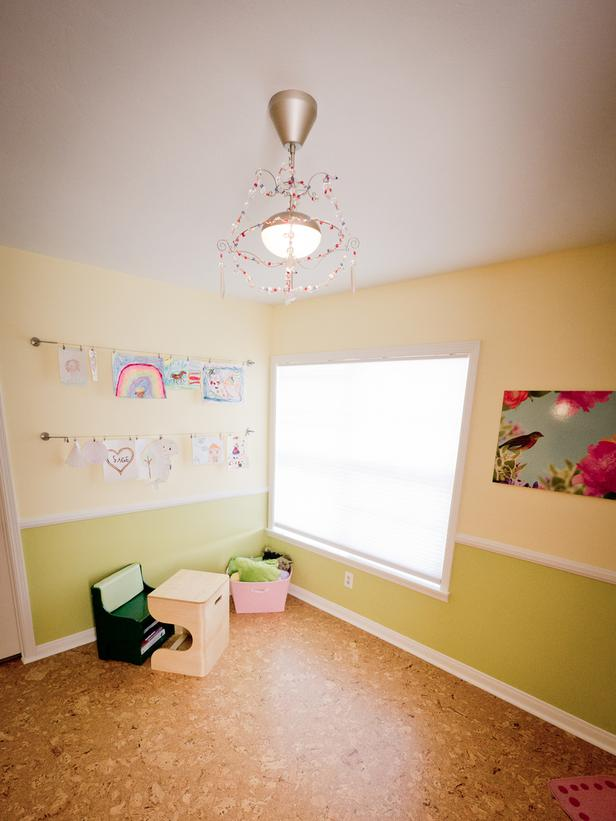 Thiết kế một căn phòng dành cho 3 bé