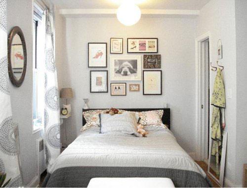 Trang trí phòng ngủ nhỏ thế nào để tạo được nét duyên