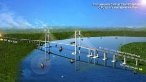 Cầu dây văng cao nhất Việt Nam