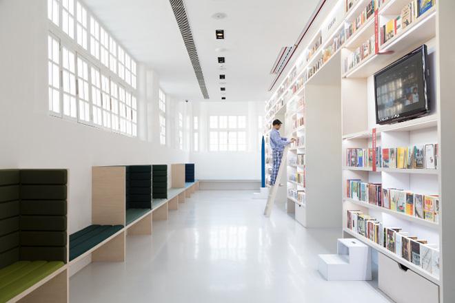 Cách trang trí phòng sách phong cách nhất tại New Dehli