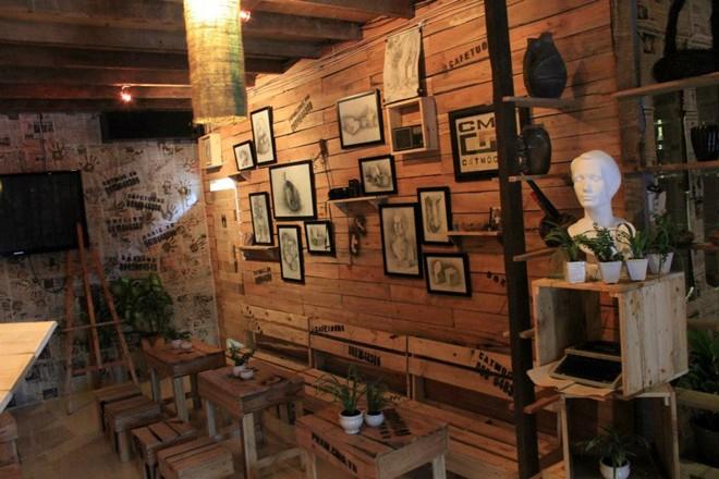Cafe lãng mạn dành cho dân kiến trúc
