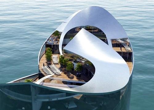 Thiết kế khách sạn với ý tưởng cảm hứng từ World Cup