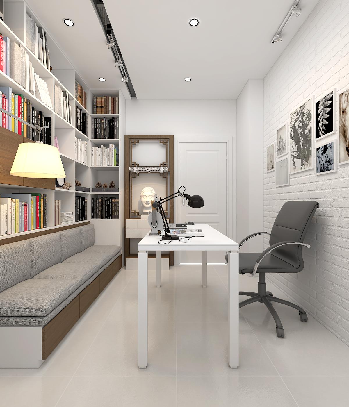 Thiết kế căn hộ lãng mạn cho nàng độc thân