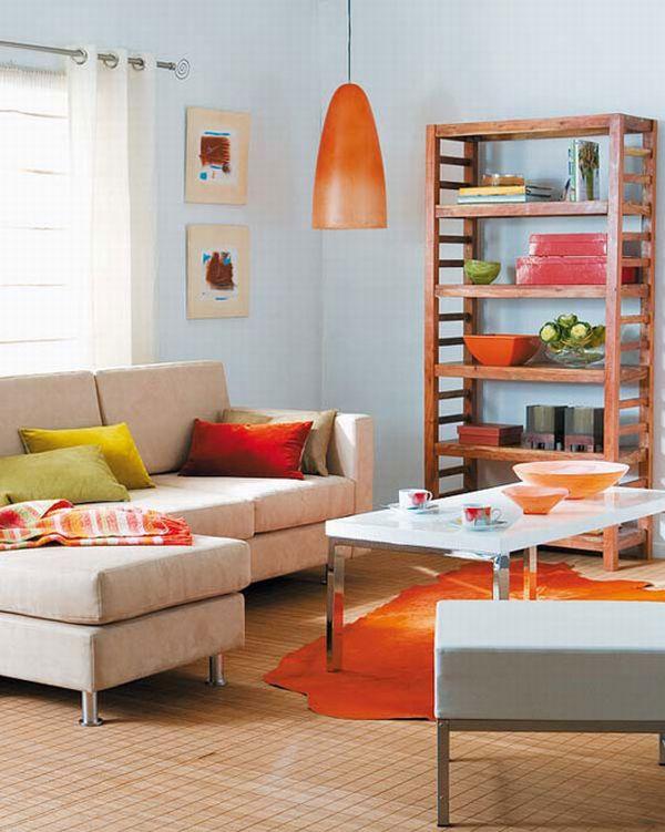 Cách phối màu cho phòng khách