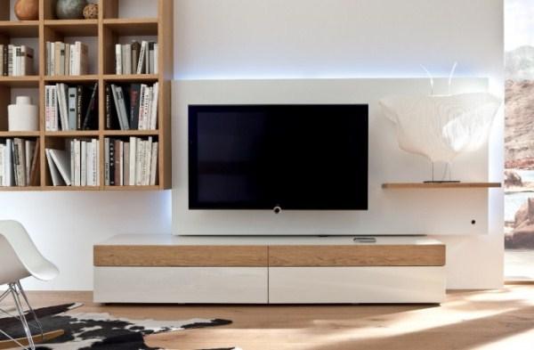Những chiếc kệ gỗ đẹp cho phòng khách nhà bạn