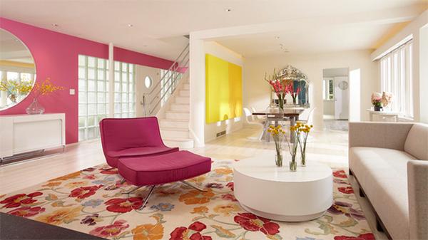Thiết kế phòng khách một cách ấn tượng