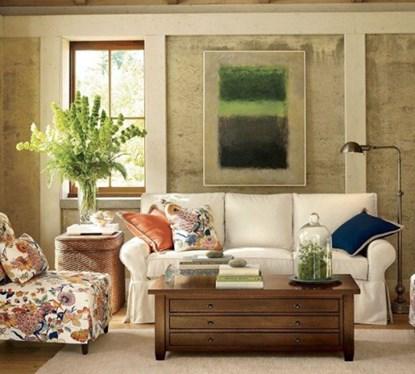 Thiết kế phòng khách đẹp cùng phụ kiện đơn giản