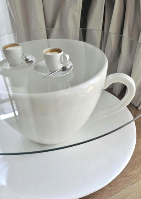 Tìm hiểu cách thiết kế đặt phòng trà trong phòng khách