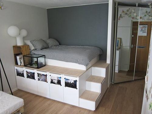 Cách thiết kế 1 chiếc tủ xinh xắn với ngôi nhà diện tích nhỏ