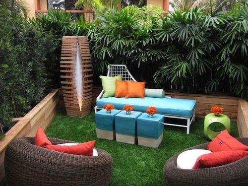 Cách thiết kế khu vườn kín đáo tạo cảm giác thư giản đón mùa hè
