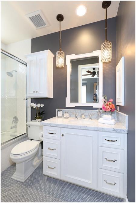 Thiết kế phòng tắm với không gian nhỏ