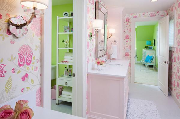 Thiết kế phòng tắm đẹp cho các bạn cô nàng độc thân
