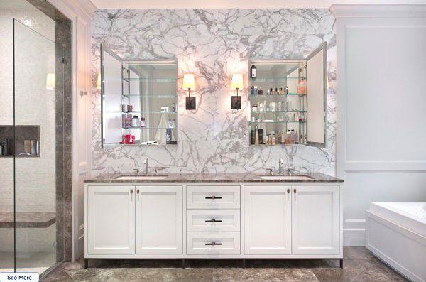 Thiết kế phòng tắm với ý tưởng độc đáo
