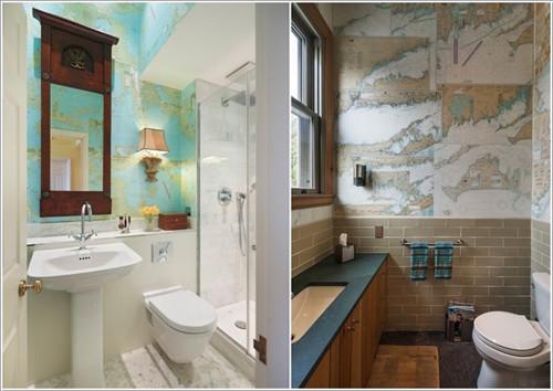 Những cách tạo cho phòng tắm thêm mới mẽ