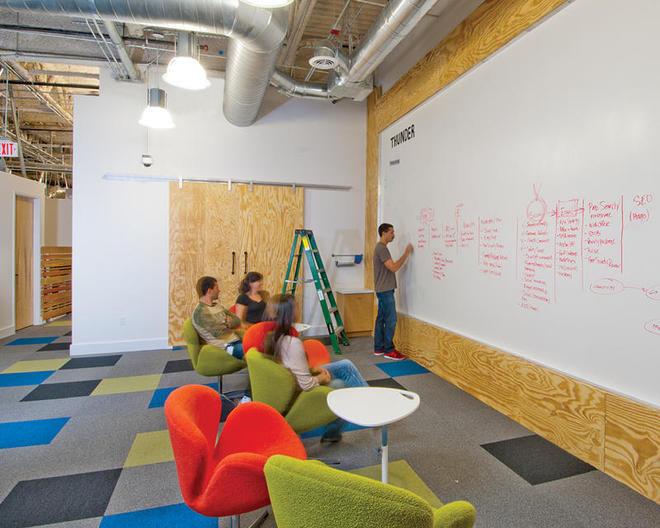 Thiết kế văn phòng theo kiểu truyền thống