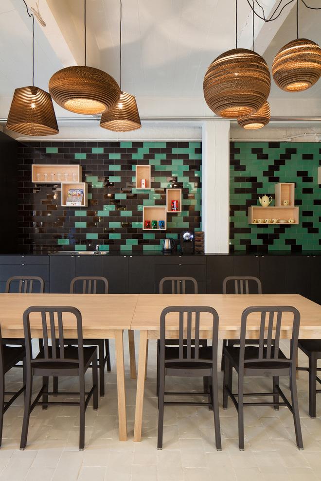 Thiết kế văn phòng chứa đủ quán cà phê, nhà hàng