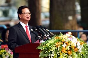 Thủ tướng Nguyễn Tấn Dũng mong chứng khoán Việt phát triển mạnh và bền vững