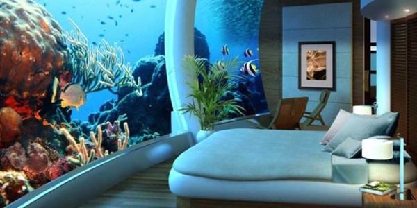 Phòng ngủ dưới đáy đại dương tuyệt hảo