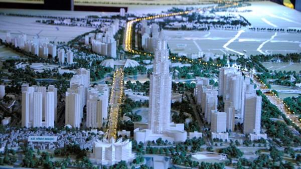 Quy hoạch đô thị trục Nhật Tân - Nội Bài.