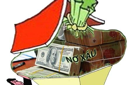 Nợ xấu tháng 6 vẫn dậm chân tại chổ