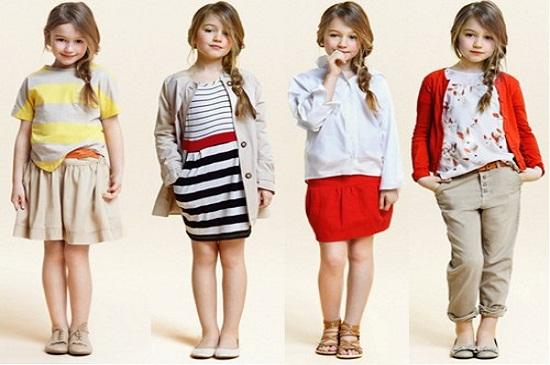 Cách chọn lựa những bộ đồ thời trang trẻ em cao cấp