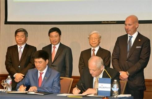 Tập đoàn dầu khí Việt Nam hợp tác với Hoa Kỳ