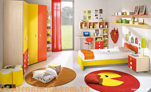 Biến phòng ngủ của bé cũng là nơi vui chơ đầy sáng tạo