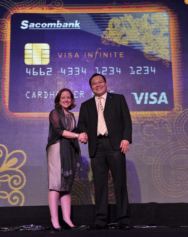 Visa Signature được Sacombank chính thức ra mắt