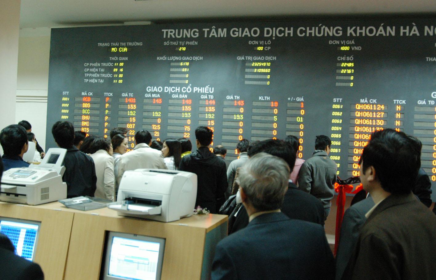 Khi nào thị trường chứng khoán Việt Nam trở lại