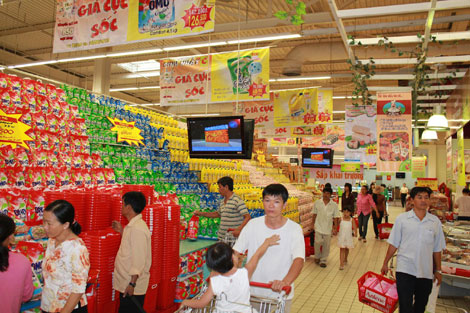 Lợi thế trên thị trường bán lẻ luôn là cuộc chiến không cân sức