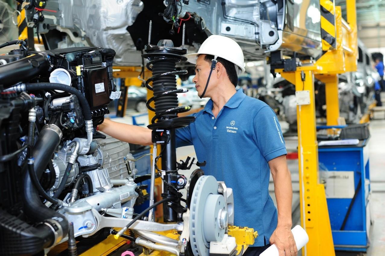 Ngành công nghiệp dần tăng trưởng nhờ vào sự khởi sắc của nền kinh tế