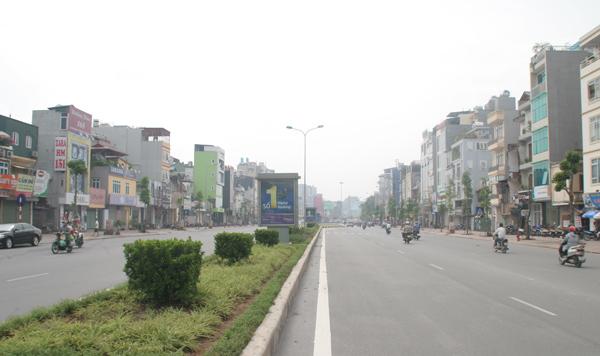 Những con đường đắt giá tại Hà Nội