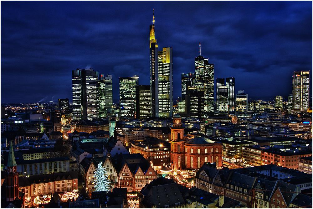Khu trung tâm tài chính lộng lẫy ở Đức