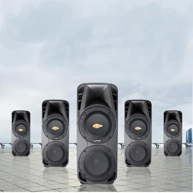 Loa di động hỗ trợ tối ưu cho việc phát thanh ngoài trời