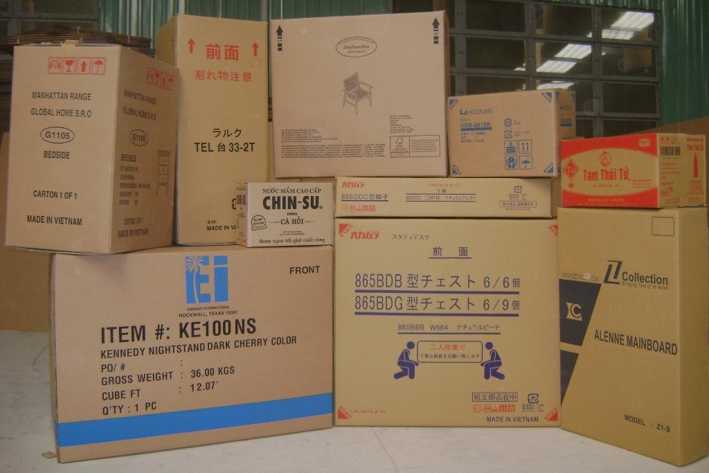 Công nghệ sản xuất bao bì thùng,hộp giấy carton