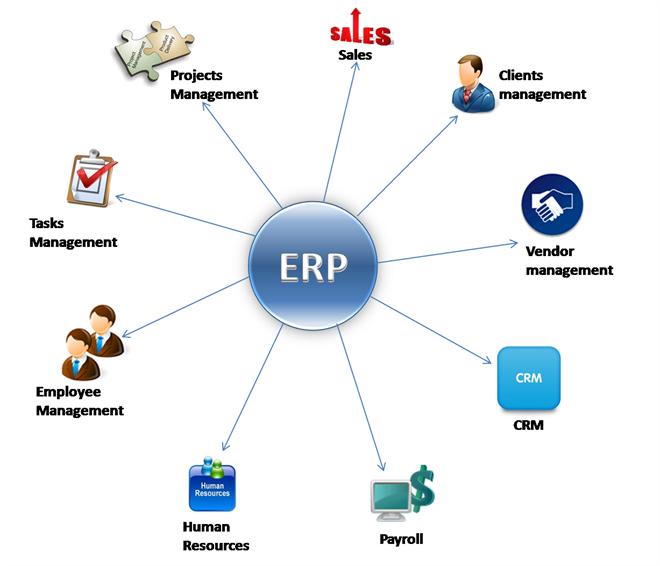 Hệ thống quản lý ERP trong sản xuất thùng carton