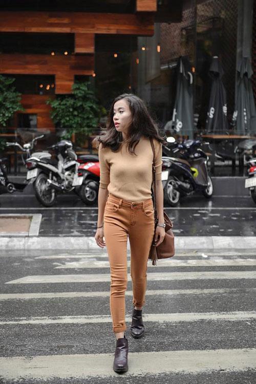 Thời trang dạo phố mùa thu của giới trẻ miền bắc 2015