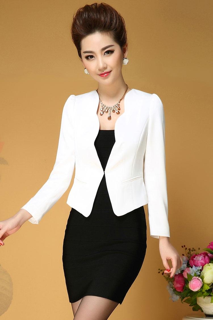 áo vest trắng công sở