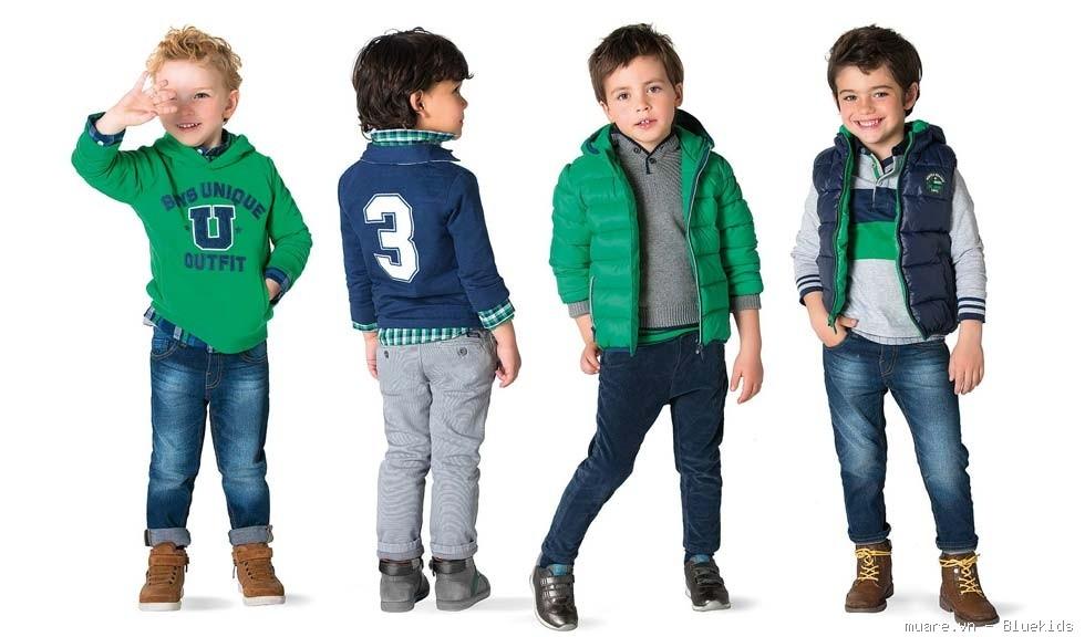 Xu hướng thời trang quần áo trẻ em cao cấp năm 2016